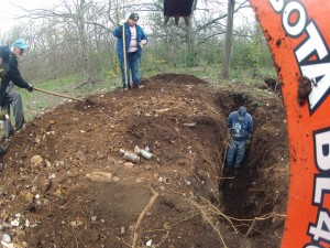 Bottle Dig with Backhoe 2