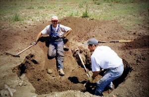 bob_garren digging artifacts